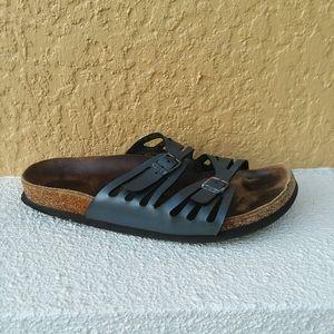 BIRKENSTOCK Granada Navy Sandal Size 9